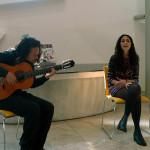 Muzikaal intermezzo met Jaime Nanoha en Juliana Martina