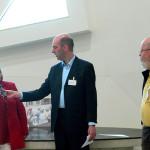 Ank van der Vliet en Piet van der Lende van de bijstandsbond geïnterviewd door Christian Jongeneel