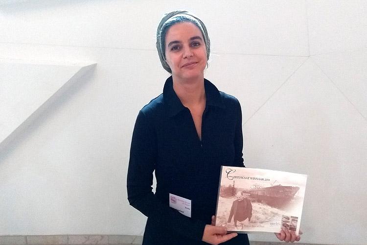 Nora Kasrioui, initiatiefnemer van Brood en Rozen