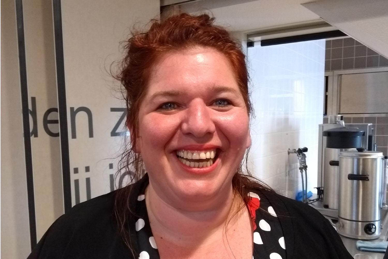 Ilona Ordelman, initiatiefnemer van Bij de Halte