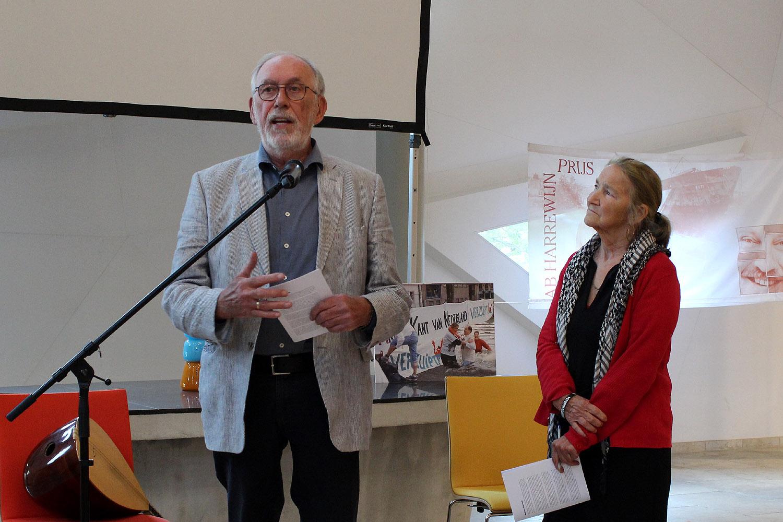 Jan van Arkel en Ineke Palm namen waar voor genomineerde Connie van den Broek